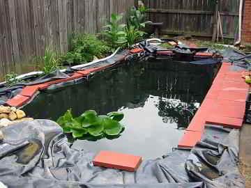 Een vijver aanleggen wat komt er kijken bij vijveraanleg for Wat kost een zwemvijver aanleggen